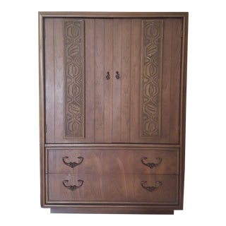 Krohler Mid-Century Polynesian-Style Gentleman's Chest For Sale