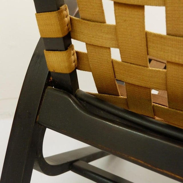 Pair of Bentwood Armchairs by Jan Vanek for Up Závody, 1930s For Sale - Image 4 of 9