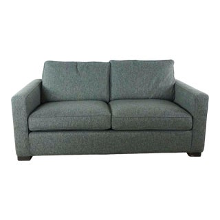Room & Board Gray Upholstered Sofa For Sale