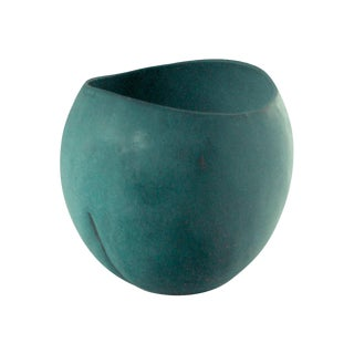 Prototype Vase in Verdigris by Weston Neil Andersen For Sale