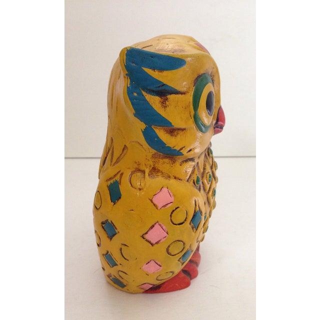 1960s Folk-Style Owl Bank - Image 6 of 8