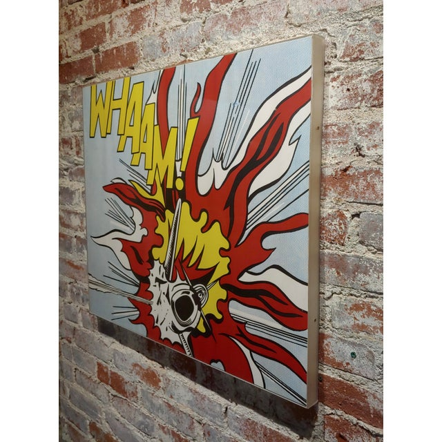Roy Lichtenstein -Whaam ! - Vintage Lithographs - A Pair For Sale - Image 10 of 12
