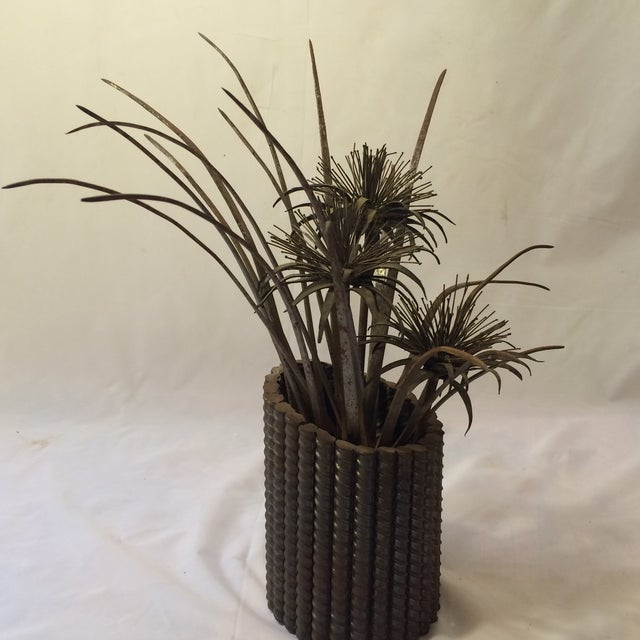 Wild Thistle Brutalist Sculpture - Image 4 of 6