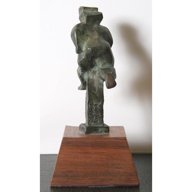 Chaim Gross Running Figure, Bronze Scupture 1943 For Sale - Image 4 of 6