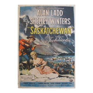 1954 Canadian Movie Poster, Saskatchewan