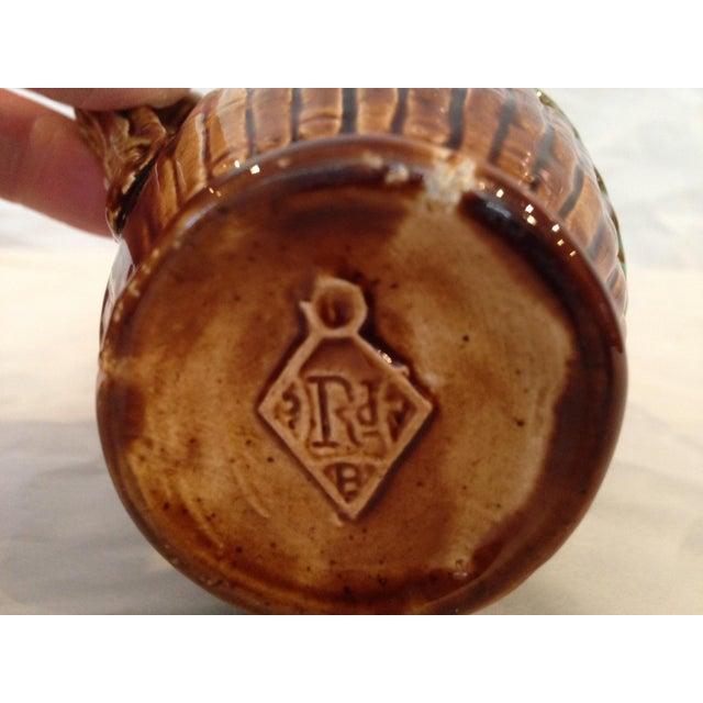 Antique Majolica Cream Pitcher - Image 6 of 6