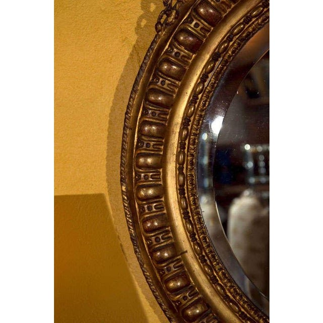 Early 20th Century Vintage French Giltwood Mirror For Sale - Image 5 of 6