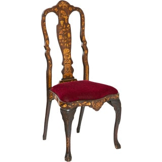 19th Century Dutch Side Chair For Sale