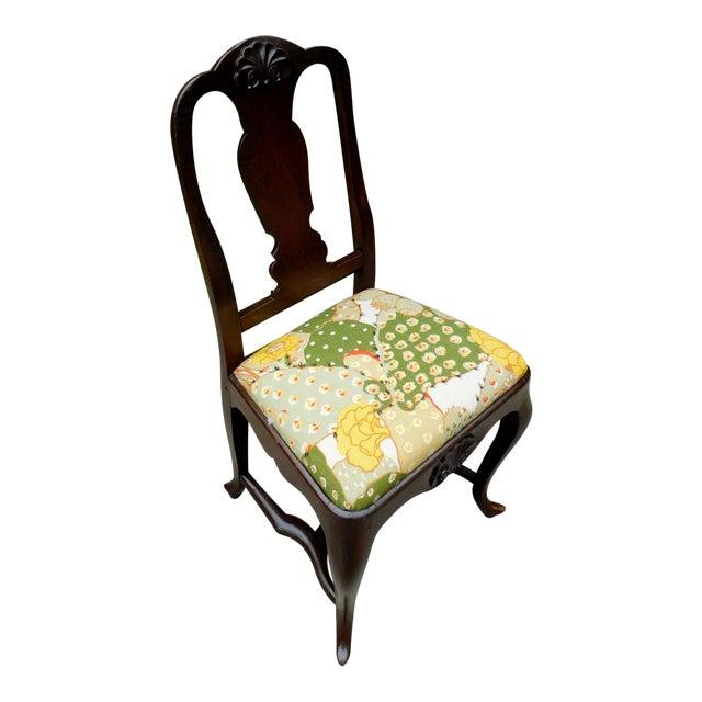 Antique Botanical Cactus Chair For Sale