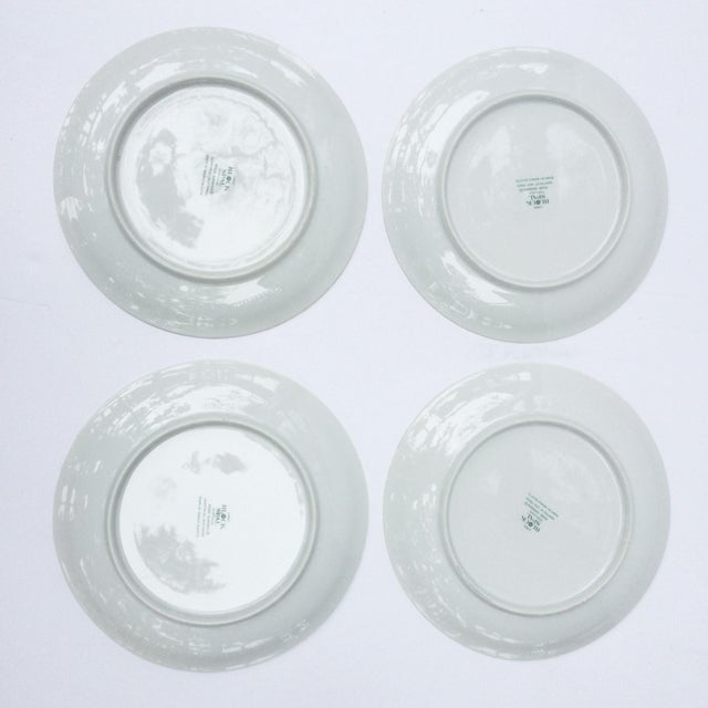 Vintage Rose Garden Dinner Plates by Block Spal - Set of 4 For Sale - Image 9 of 10