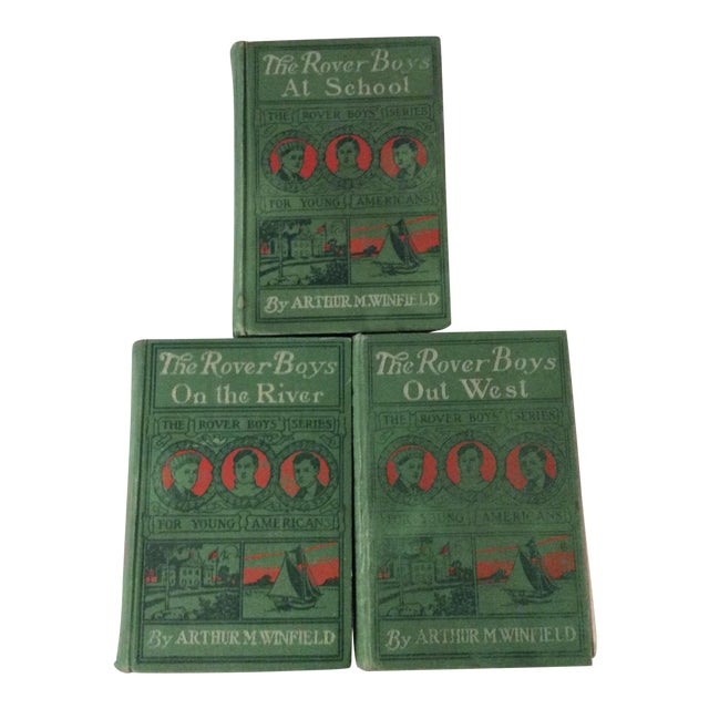 Early 1900s Books: The Rover Boys' Series for Young Americans - Set of 3 - Image 1 of 10