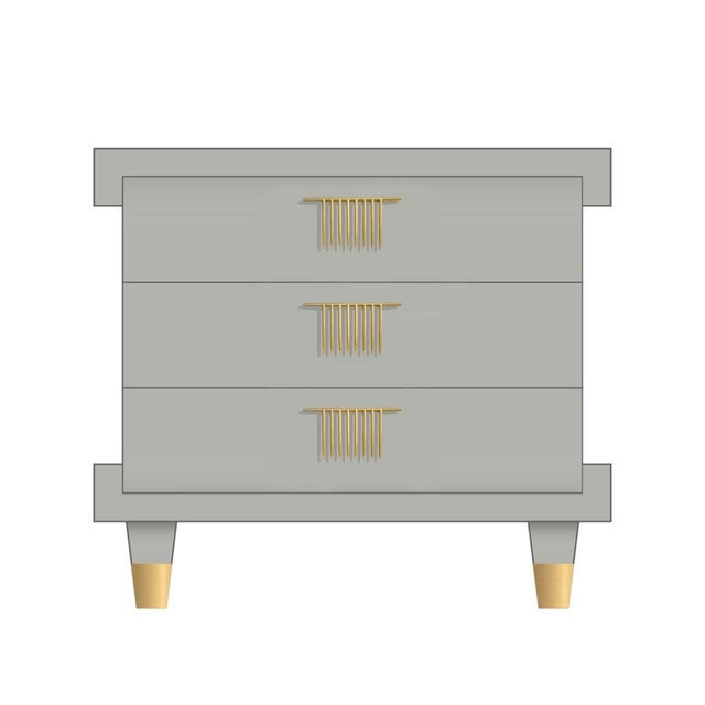 Shown in painted satin finish. Each piece of our case goods collection makes its own statement and can integrated into...