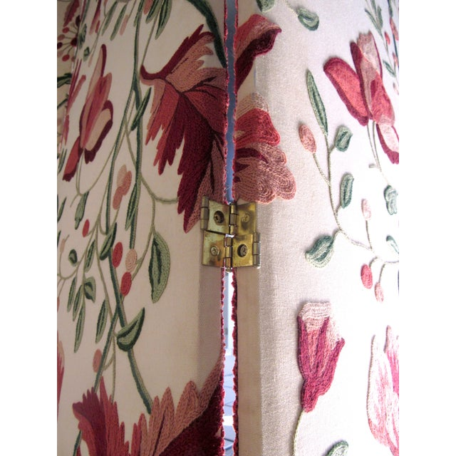 Floral Scalamandre Room Divider For Sale - Image 7 of 7
