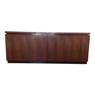 Mid-Century Modern Maurice Villency Rosewood Credenza For Sale