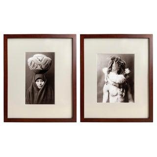 Edward Curtis Prints - a Pair For Sale