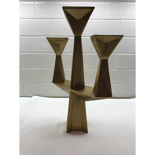 Contemporary Contemporary Tom Dixon 3 Light Candlestick For Sale - Image 3 of 6