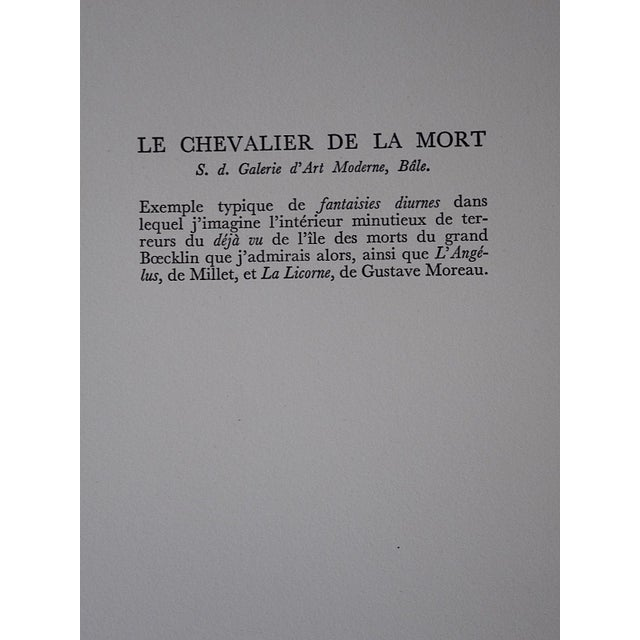 Vintage Surrealist Lithograph-Salvador Dali-France-1957 - Image 3 of 5