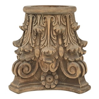 Corinthian Capital Planter