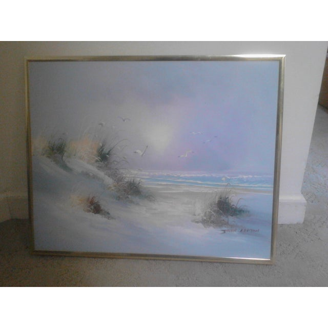 """""""Ocean"""" by John Leman, Oil Painting For Sale - Image 4 of 7"""