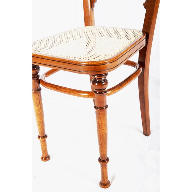 Brown Antique chair from Thonet, 1890 For Sale - Image 8 of 10