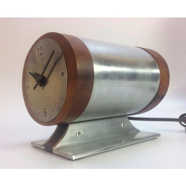 Vintage Nelson Style Sessions Desk Clock For Sale - Image 5 of 7