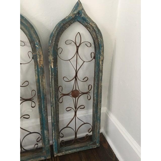 Antique Window Frames - Set of 3 - Image 3 of 6
