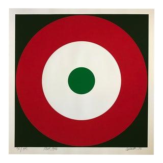 1975 Pop Art Chuck Smith Icbfa Insignia Silkscreen For Sale