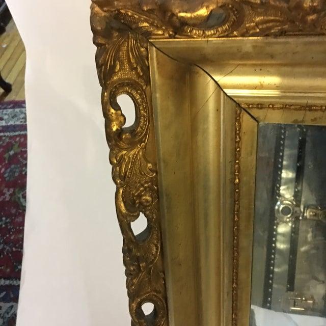 Carved Gold Framed Mirror - Image 6 of 8