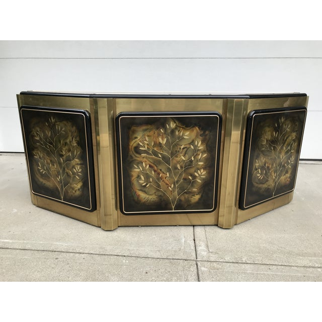 """Mastercraft """"Tree of Life"""" Cabinet by Bernhard Rohne For Sale In San Francisco - Image 6 of 12"""