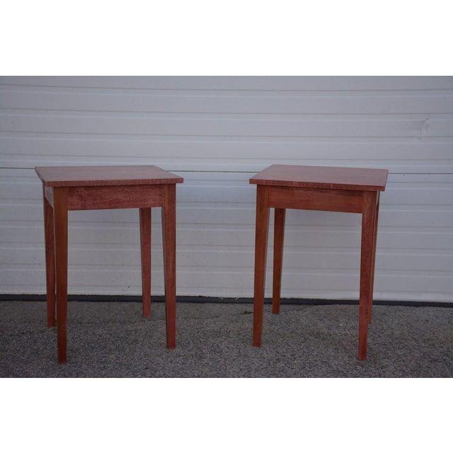 Shaker Sedona Poplar Side Table - Image 4 of 5