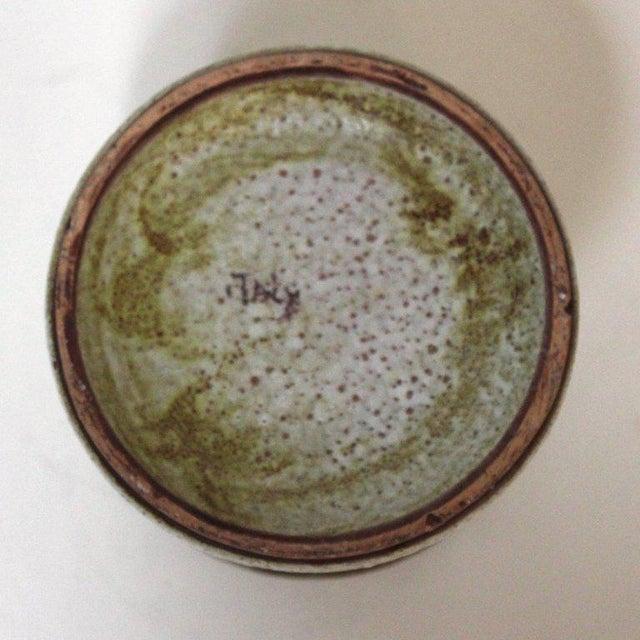 Raymor Mid-Century Italian Lava Glaze Vase - Image 6 of 8