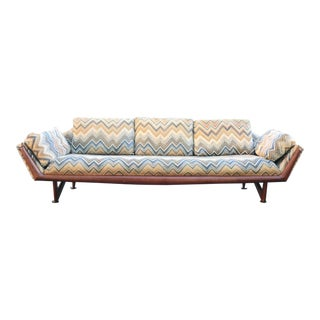 Mid-Century Modern Adrian Pearsall for Craft Associates Gondola Sofa For Sale