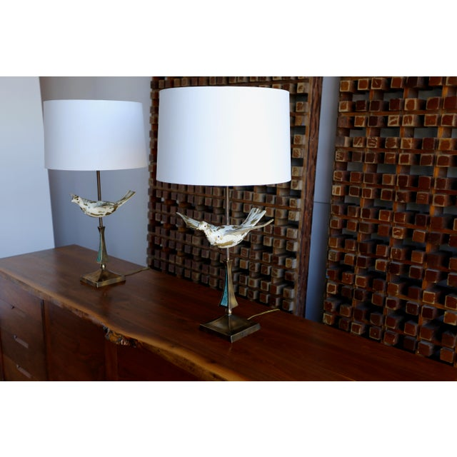 Mid Century Pepe Mendoza Table Lamps - a Pair For Sale - Image 9 of 9