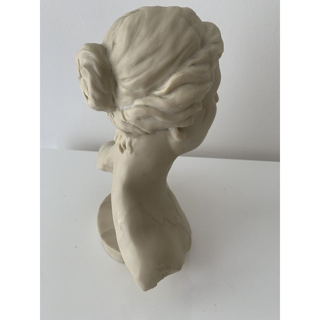 Realism Bust of Diana Sculpture For Sale - Image 3 of 7