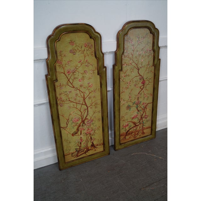 Elizabeth Marshall Queen Anne Style Wall Panels - A Pair - Image 7 of 10