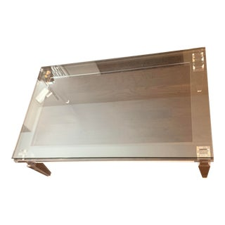 Interlude Home Savannah Lucite Coffee Table For Sale
