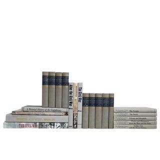Civil War History Book Set, (S/21) For Sale