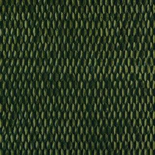 Scalamandre Allegra Velvet Fabric in Emerald Sample For Sale