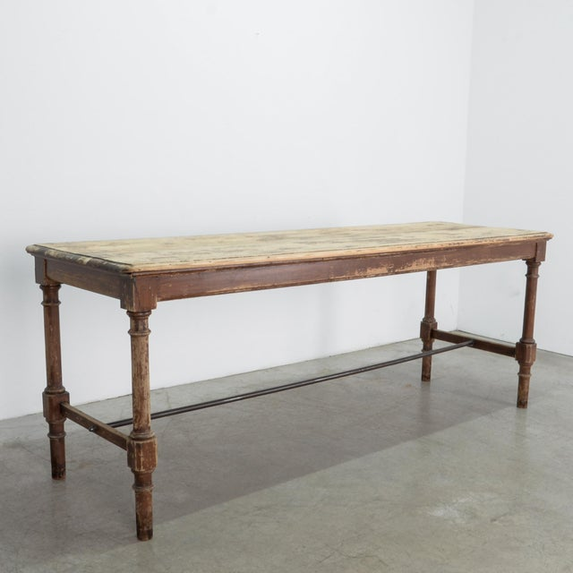 Antique Belgian Side Table For Sale - Image 4 of 10