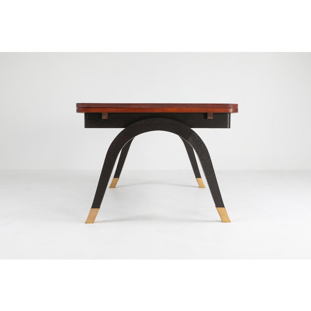 Art Deco Art Deco Extendable Dining Table For Sale - Image 3 of 11