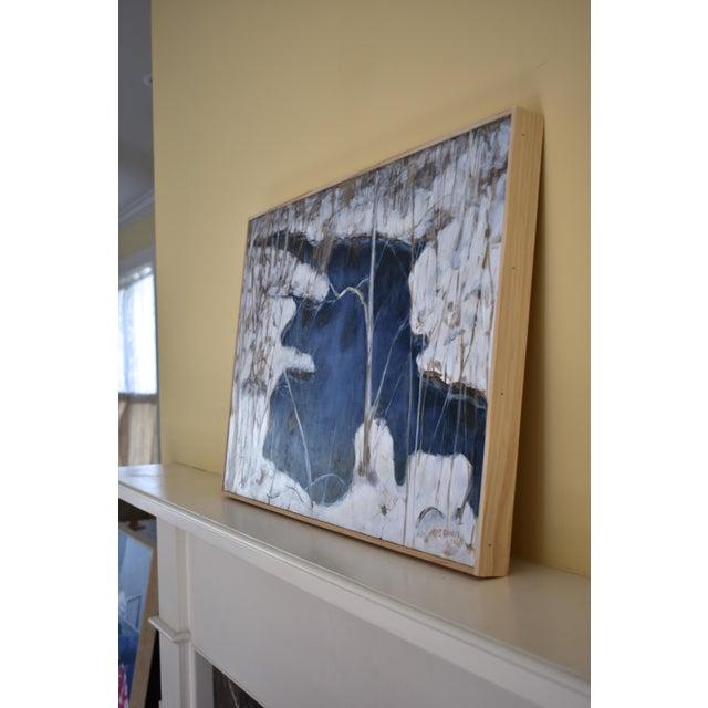 "Paint Stephen Remick ""Destruction Brook at Ella's Bridge""Contemporary Painting For Sale - Image 7 of 9"
