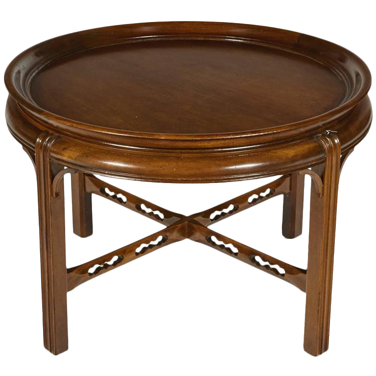 Berkey U0026 Gay Furniture Co Mahogany Round Side Table