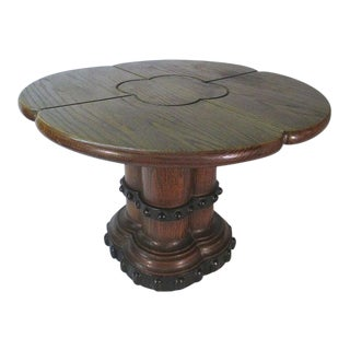 Brutalist Romweber Heavy Side Table For Sale