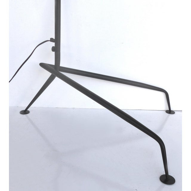 Lights Serge Mouille Style Three Arm Floor Lamp With European Electrical Plug For Sale - Image 7 of 10