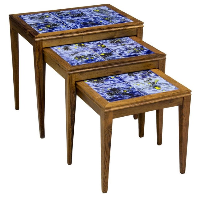 Modern Nesting Tables - Set of 3 - Image 8 of 8