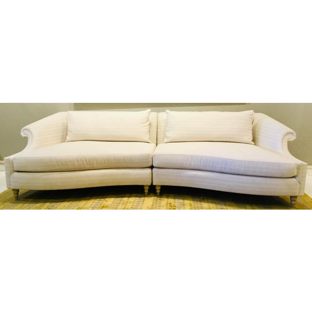 Caracole Modern Two Piece Roll Model Sofa For Sale In Atlanta - Image 6 of 6