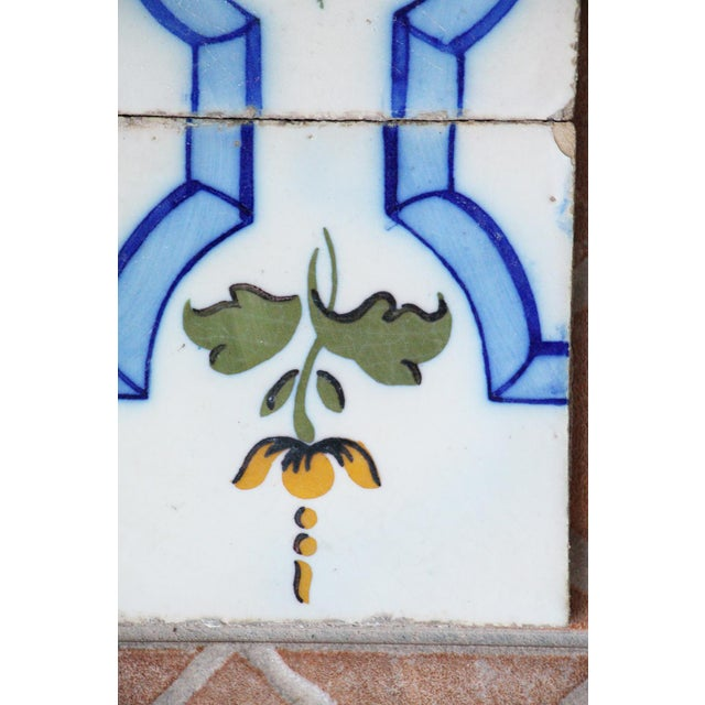 Art Deco 20th Century Tin-Glazed Pottery Tiles - a Pair For Sale - Image 3 of 8