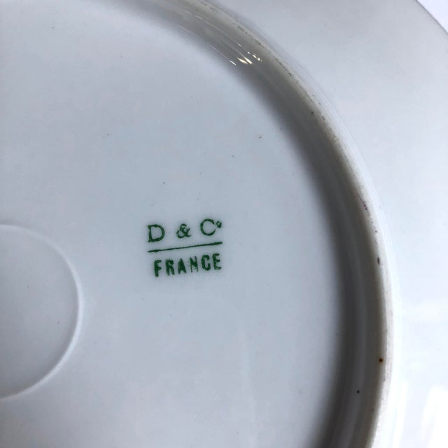 19th Century Limoges Plates - Set of 5 For Sale - Image 4 of 6