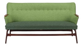 Image of Newly Made Green Standard Sofas
