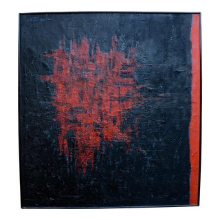 1960s Abstract Painting by John Otterson For Sale